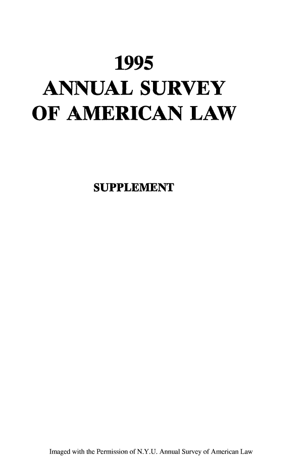 handle is hein.journals/annams1995 and id is 1 raw text is: 1995