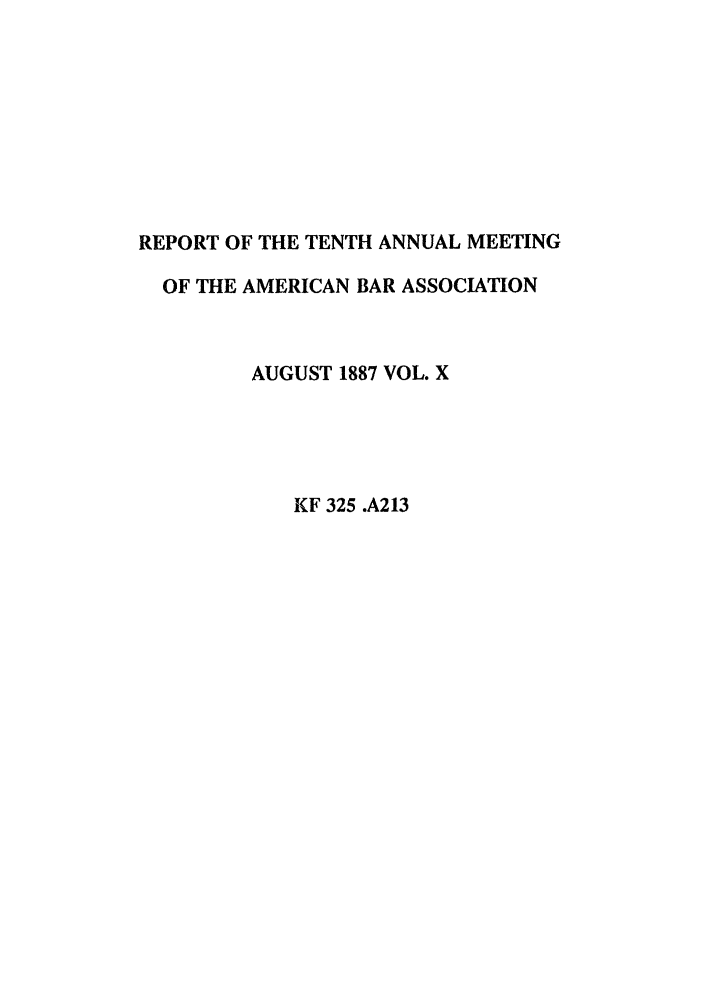handle is hein.journals/anraba10 and id is 1 raw text is: REPORT OF THE TENTH ANNUAL MEETING