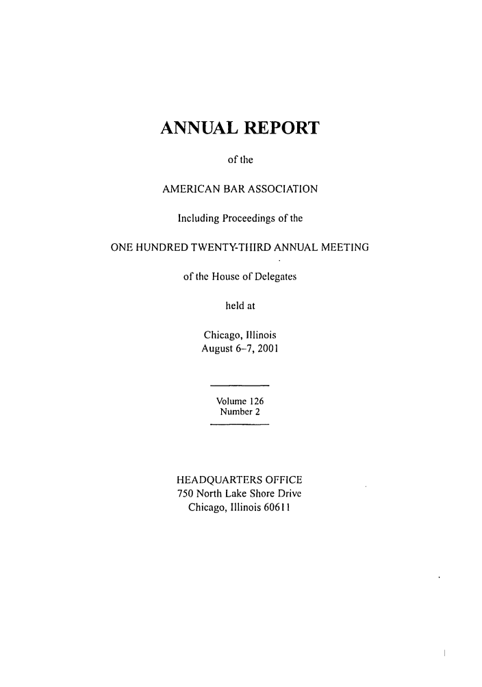 handle is hein.journals/anraba143 and id is 1 raw text is: ANNUAL REPORT