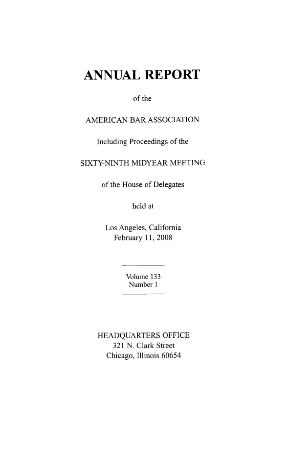 handle is hein.journals/anraba156 and id is 1 raw text is: ANNUAL REPORT