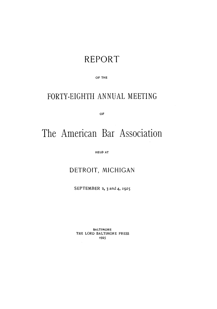 handle is hein.journals/anraba50 and id is 1 raw text is: REPORT