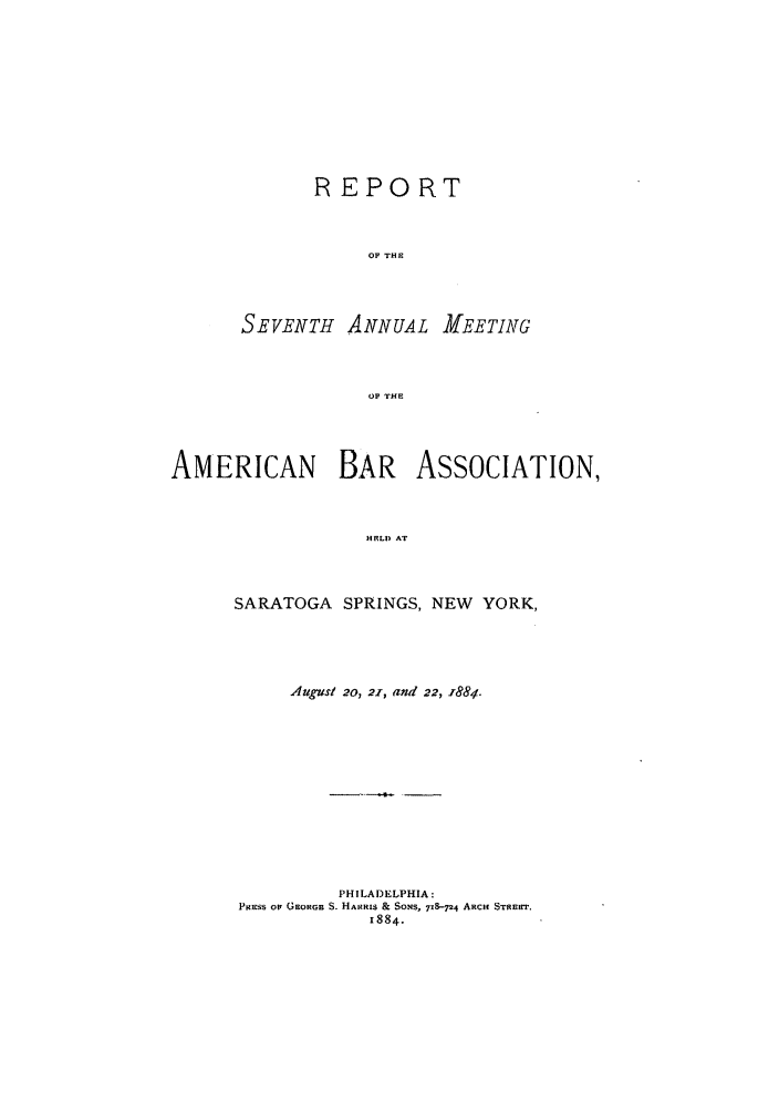 handle is hein.journals/anraba7 and id is 1 raw text is: REPORT