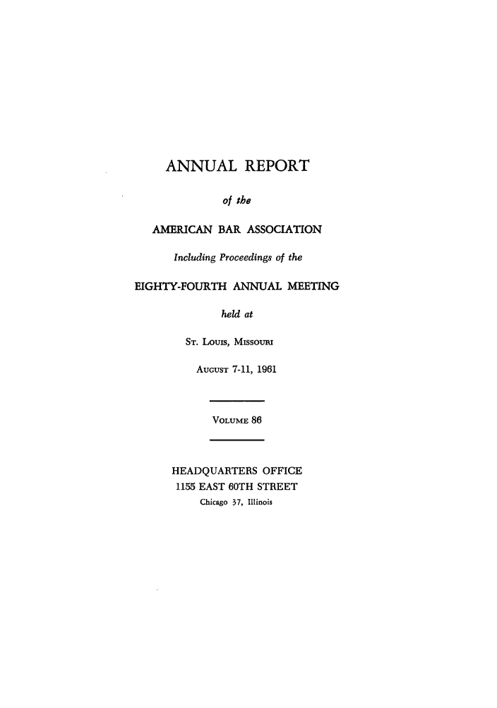 handle is hein.journals/anraba86 and id is 1 raw text is: ANNUAL REPORT