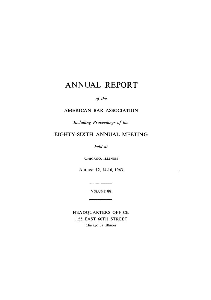 handle is hein.journals/anraba88 and id is 1 raw text is: ANNUAL REPORT
