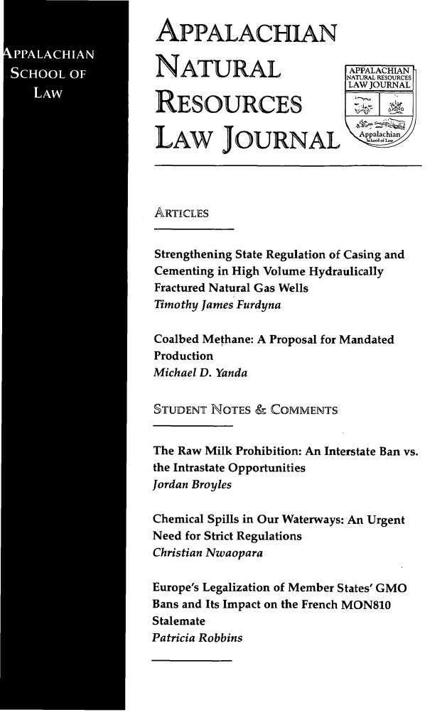 handle is hein.journals/anrlj9 and id is 1 raw text is: 