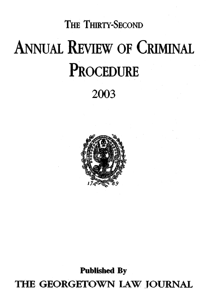 handle is hein.journals/anrvcpr32 and id is 1 raw text is: THE THIRTY-SECOND