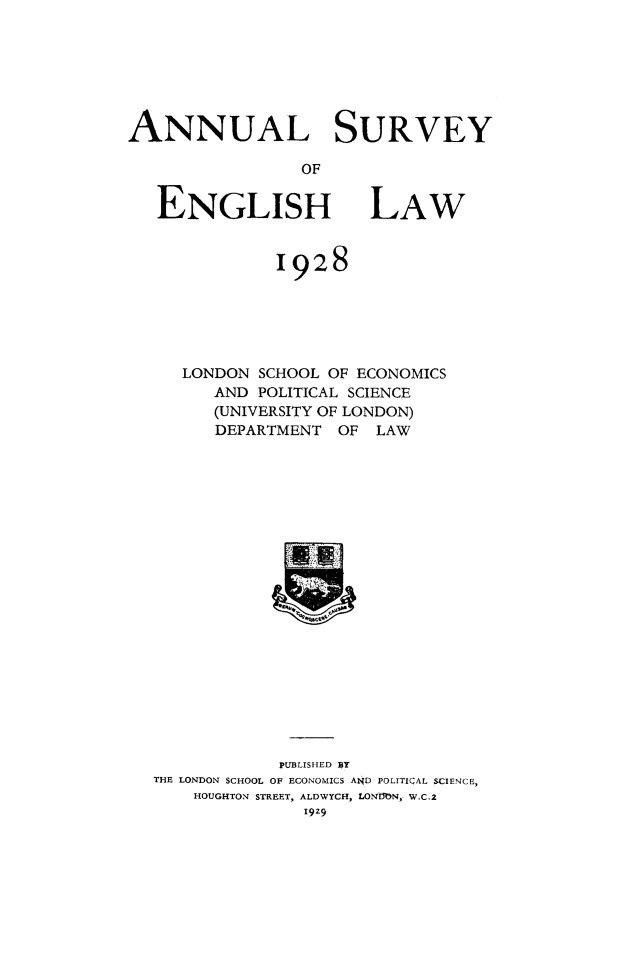 handle is hein.journals/ansureng1 and id is 1 raw text is: ANNUAL SURVEY