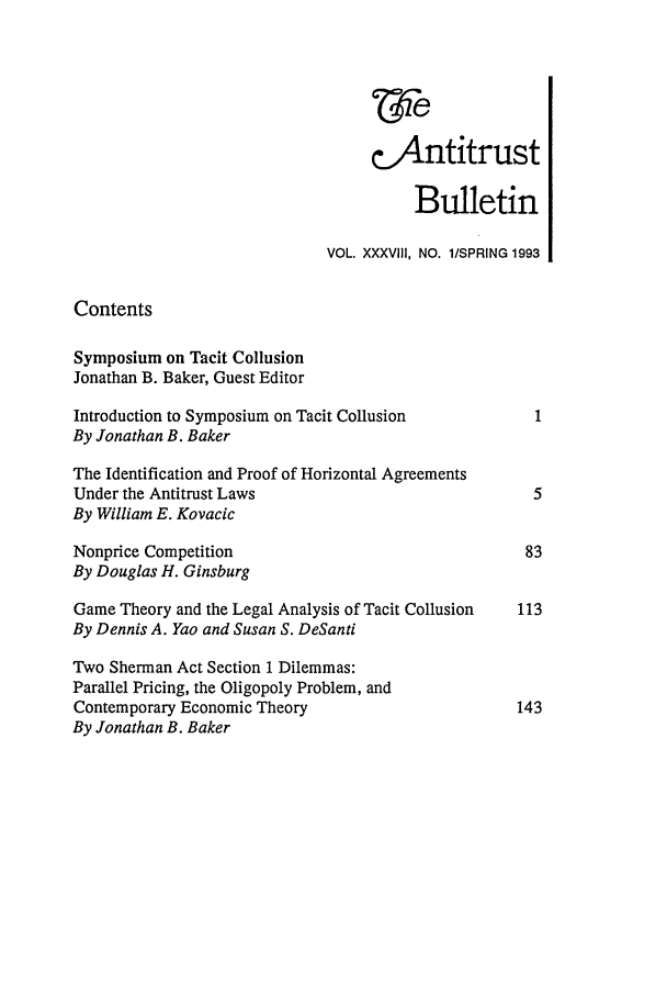 handle is hein.journals/antibull38 and id is 1 raw text is: c.Antitrust