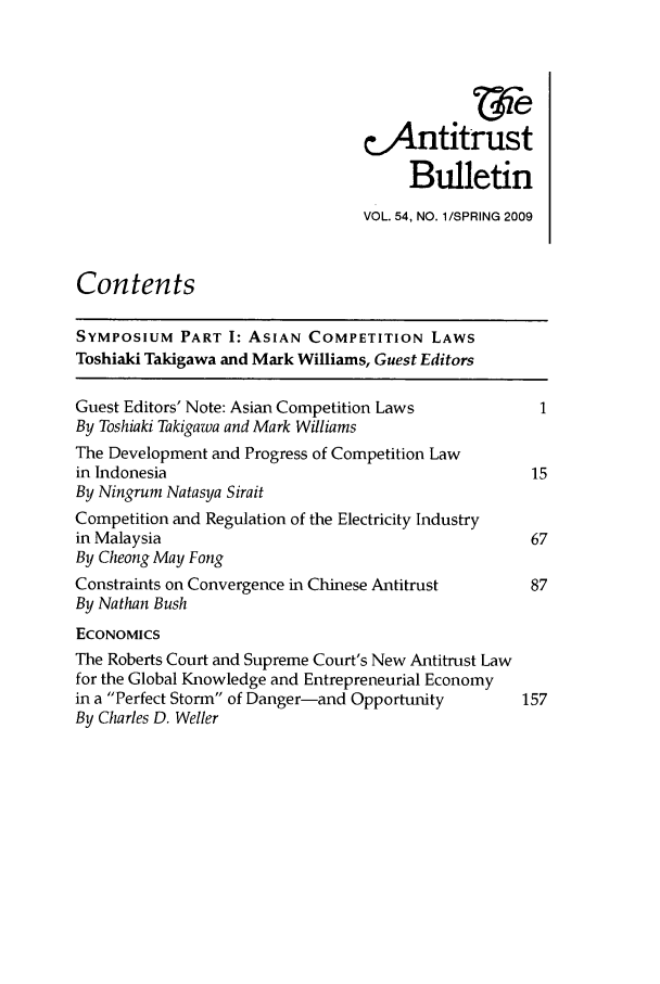 handle is hein.journals/antibull54 and id is 1 raw text is: cAntitrust