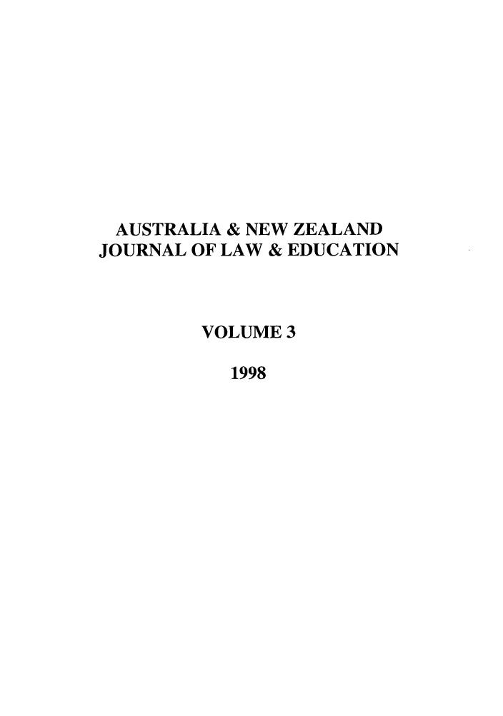 handle is hein.journals/anzled3 and id is 1 raw text is: AUSTRALIA & NEW ZEALAND