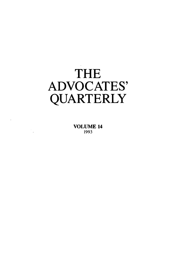 handle is hein.journals/aqrty14 and id is 1 raw text is: THE
