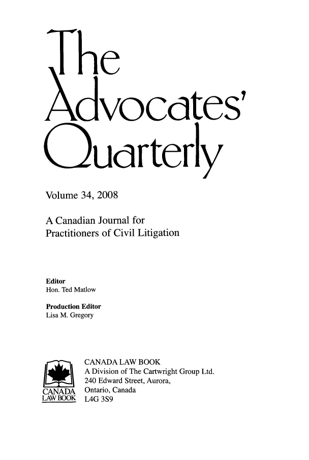 handle is hein.journals/aqrty34 and id is 1 raw text is: The