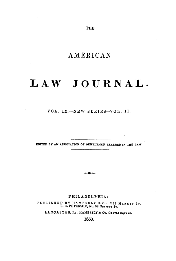 handle is hein.journals/aricnljr9 and id is 1 raw text is: THE