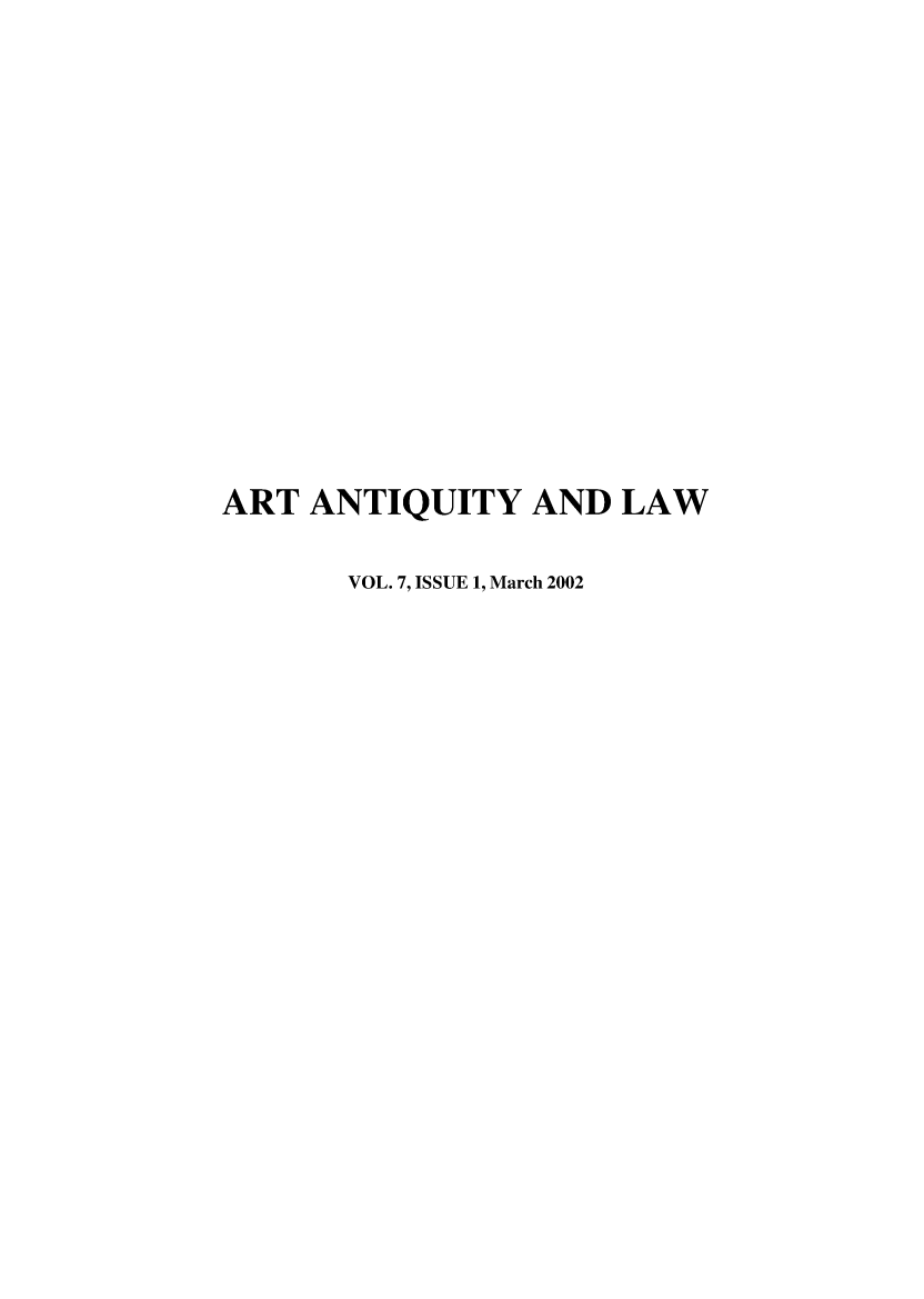 handle is hein.journals/artniqul7 and id is 1 raw text is: 
