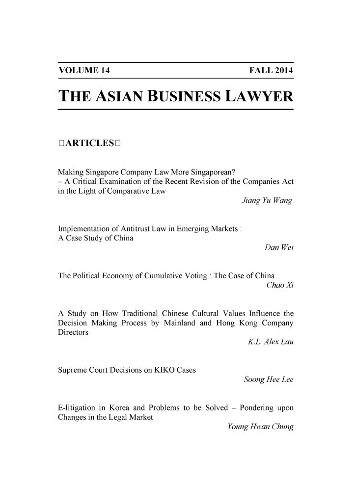 handle is hein.journals/asbulaw14 and id is 1 raw text is: 