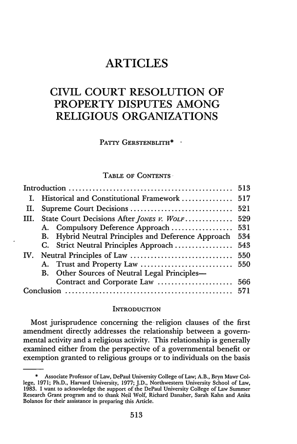 handle is hein.journals/aulr39 and id is 527 raw text is: ARTICLES