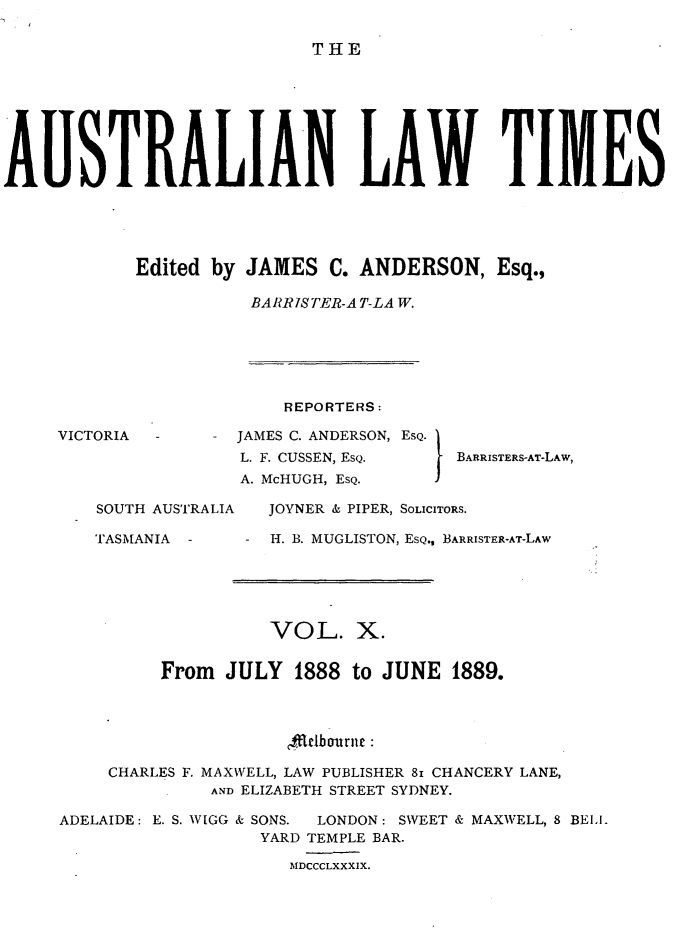 handle is hein.journals/ausianlati10 and id is 1 raw text is: THE