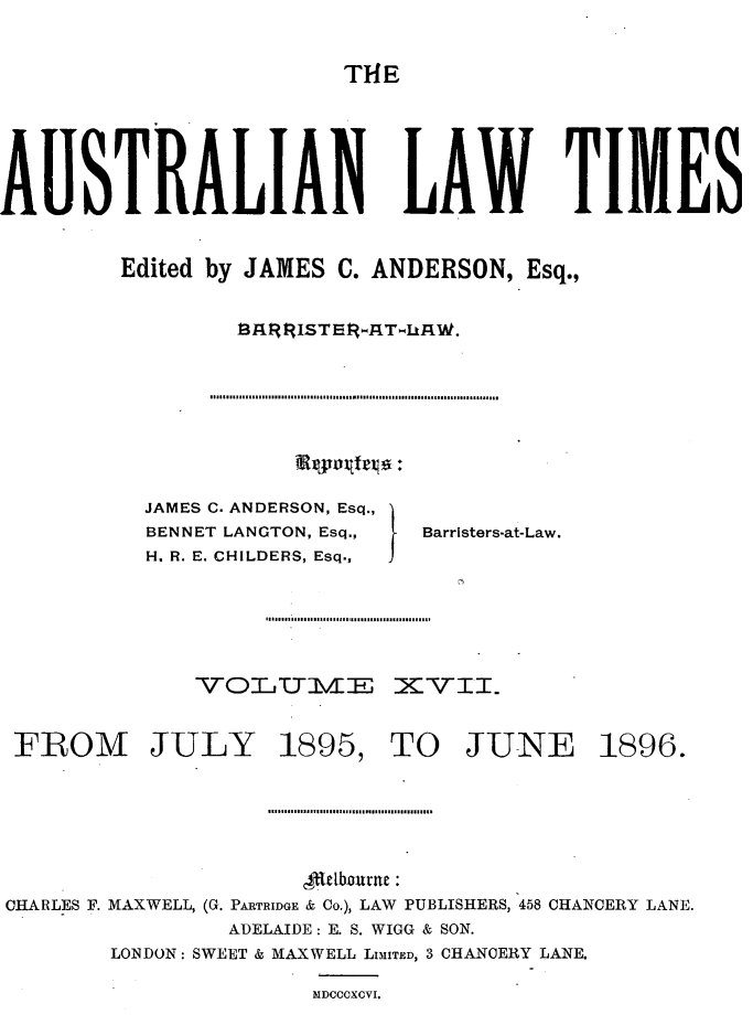 handle is hein.journals/ausianlati17 and id is 1 raw text is: T14E
