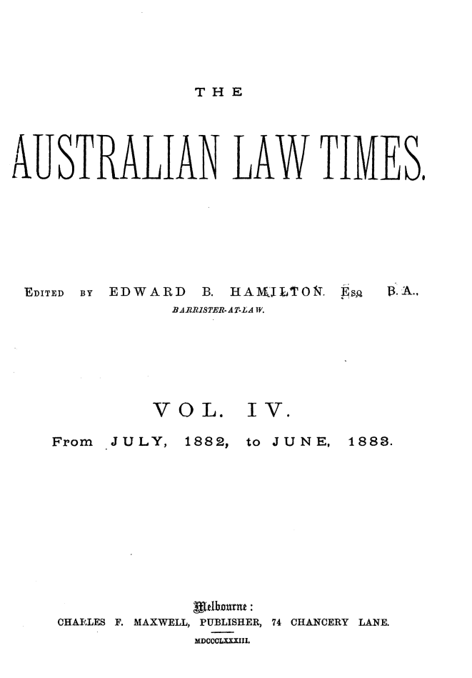 handle is hein.journals/ausianlati4 and id is 1 raw text is: THE
