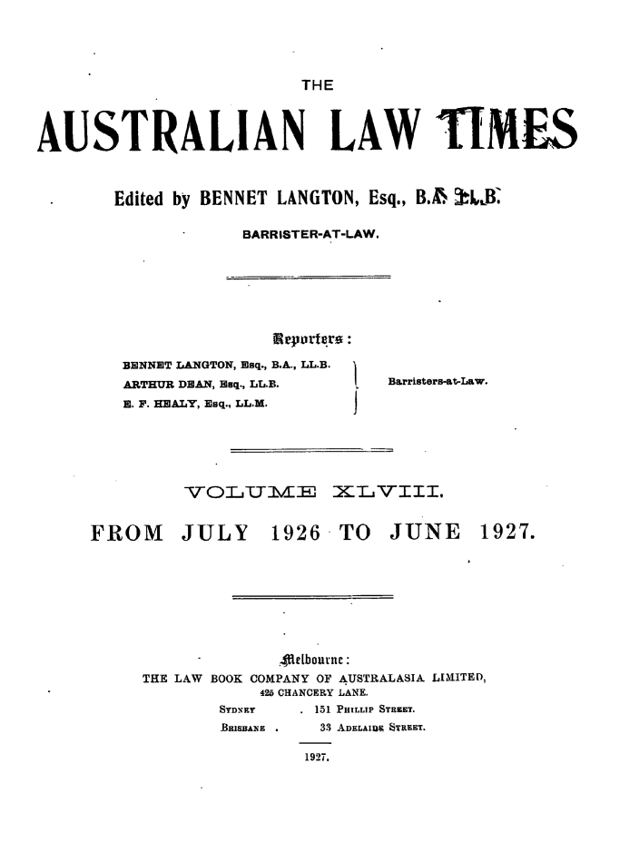 handle is hein.journals/ausianlati48 and id is 1 raw text is: THE