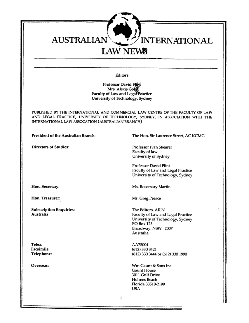 handle is hein.journals/austintlj10 and id is 1 raw text is: AUSTRALIANC irDTRATOA