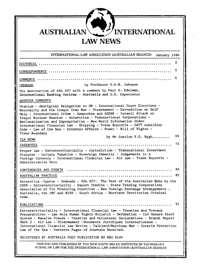 handle is hein.journals/austintlj2 and id is 1 raw text is: LAW NEWS