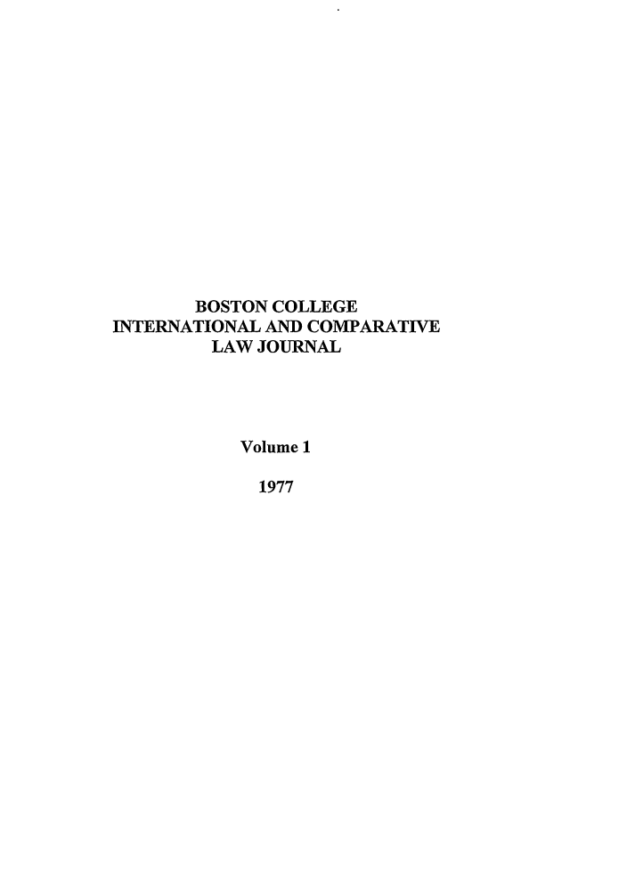 handle is hein.journals/bcic1 and id is 1 raw text is: BOSTON COLLEGE