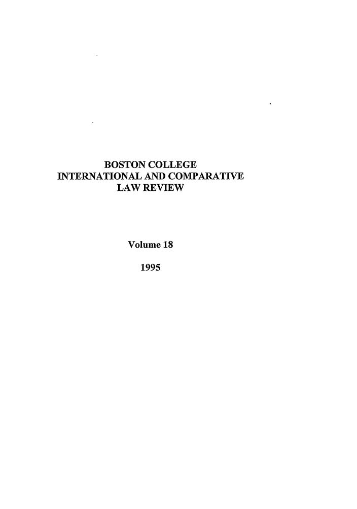 handle is hein.journals/bcic18 and id is 1 raw text is: BOSTON COLLEGE