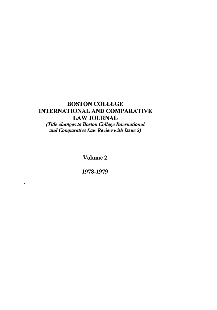 handle is hein.journals/bcic2 and id is 1 raw text is: BOSTON COLLEGE