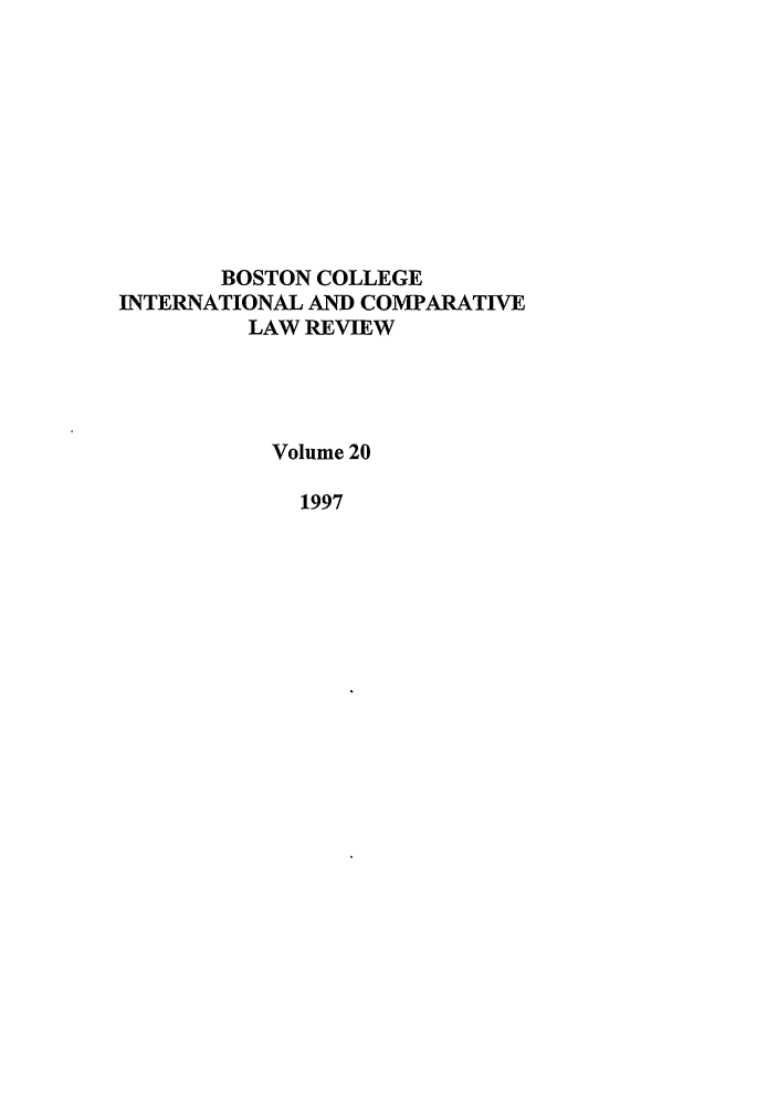 handle is hein.journals/bcic20 and id is 1 raw text is: BOSTON COLLEGE