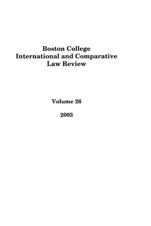 handle is hein.journals/bcic26 and id is 1 raw text is: Boston College
