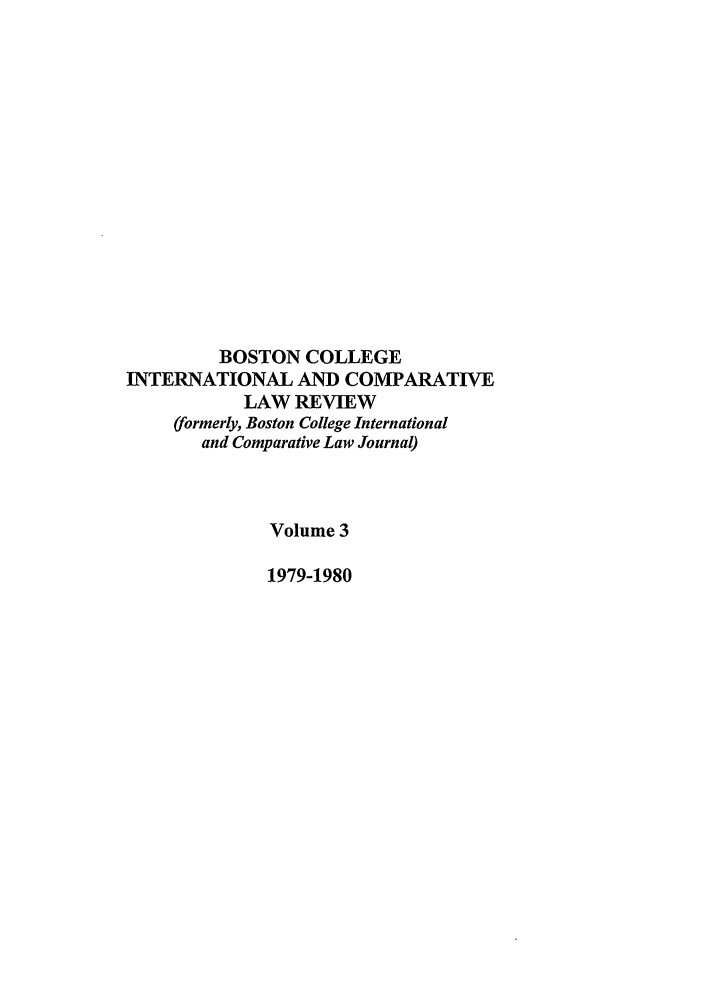 handle is hein.journals/bcic3 and id is 1 raw text is: BOSTON COLLEGE