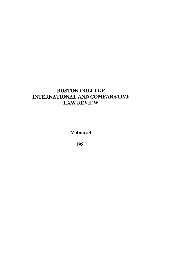handle is hein.journals/bcic4 and id is 1 raw text is: BOSTON COLLEGE