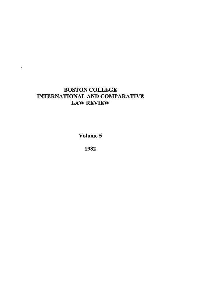handle is hein.journals/bcic5 and id is 1 raw text is: BOSTON COLLEGE