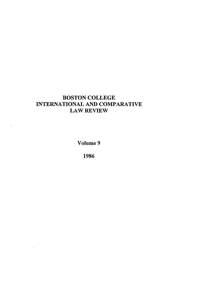 handle is hein.journals/bcic9 and id is 1 raw text is: BOSTON COLLEGE