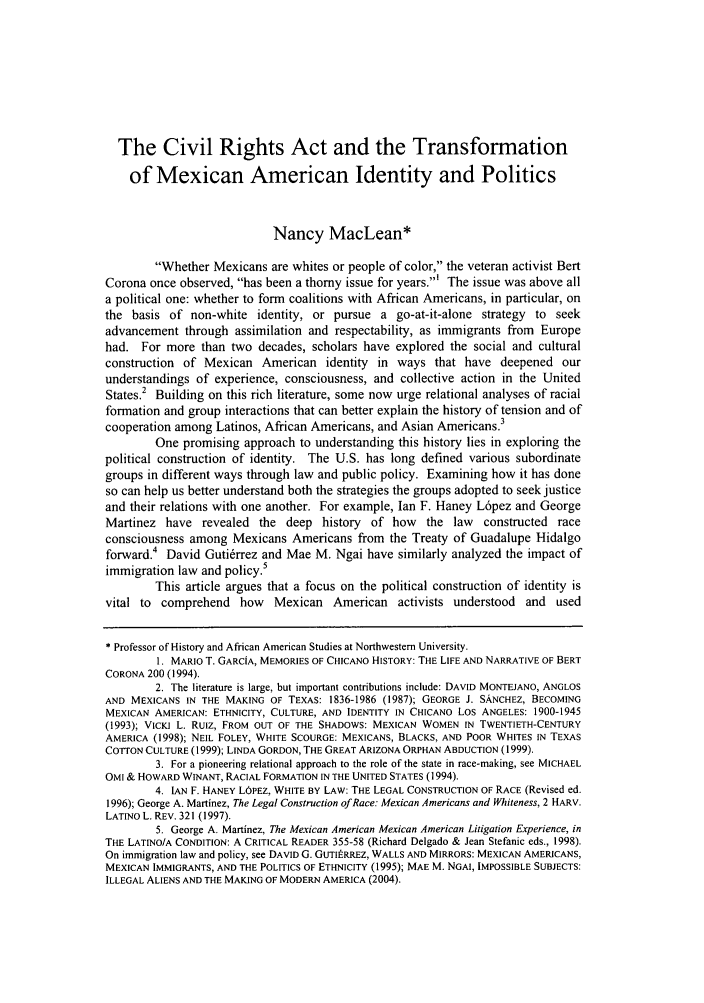 handle is hein.journals/berklarlj18 and id is 131 raw text is: The Civil Rights Act and the Transformation