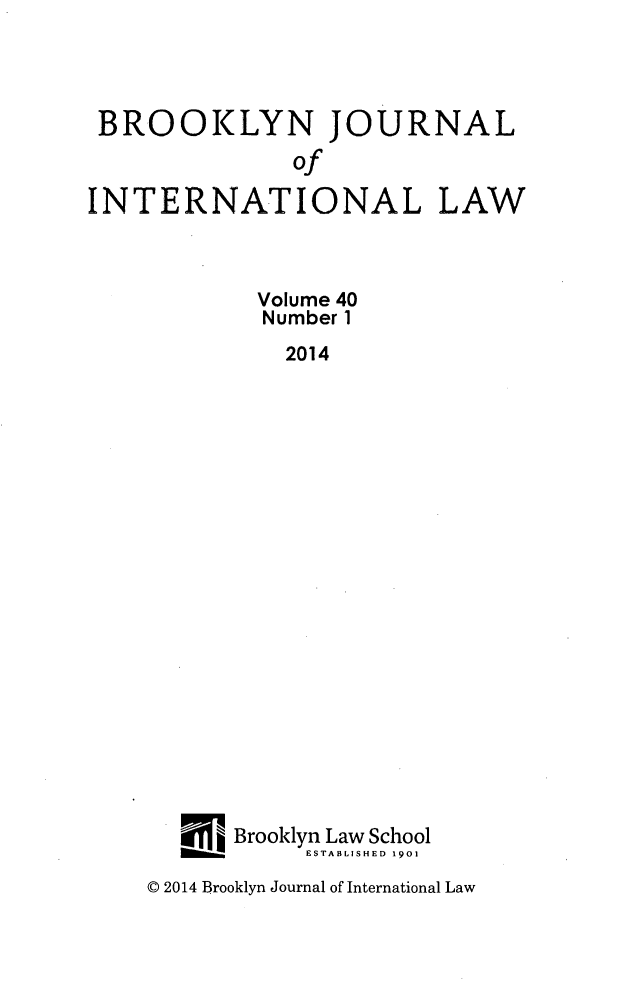 handle is hein.journals/bjil40 and id is 1 raw text is: 