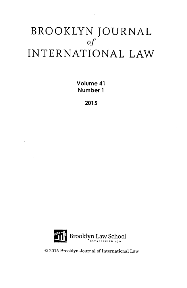 handle is hein.journals/bjil41 and id is 1 raw text is: 