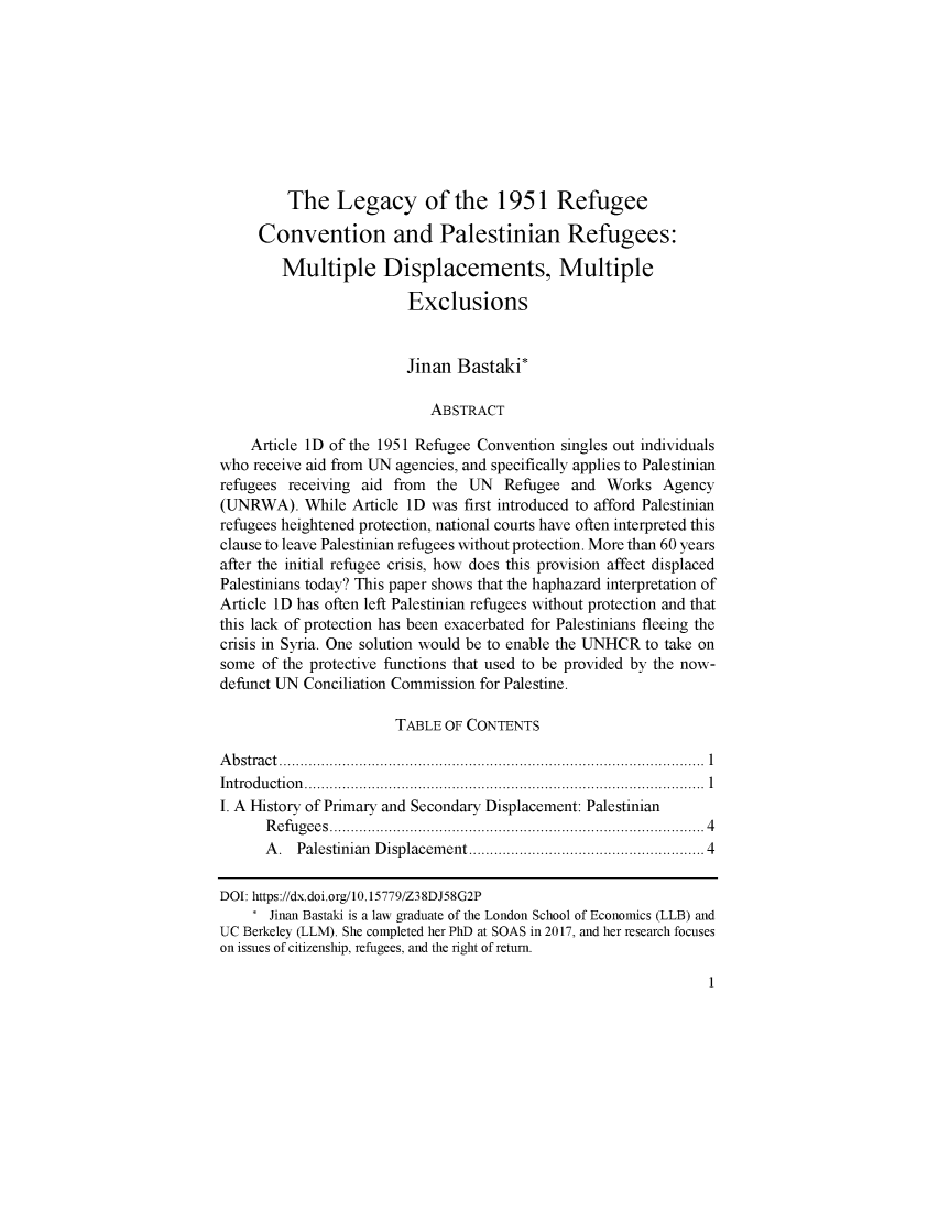 handle is hein.journals/bjme8 and id is 1 raw text is: 