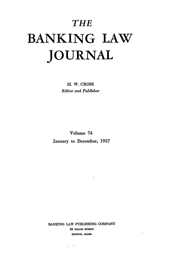handle is hein.journals/blj74 and id is 1 raw text is: THE