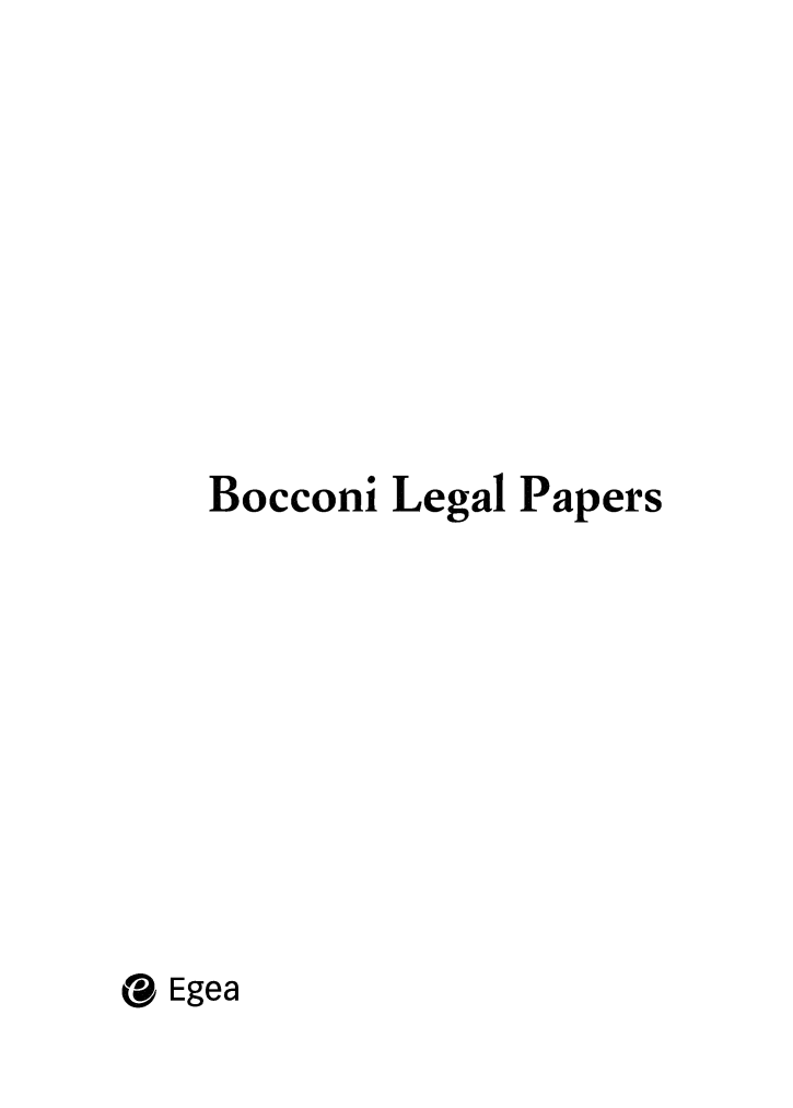 handle is hein.journals/bocclp5 and id is 1 raw text is: Bocconi Legal Papers