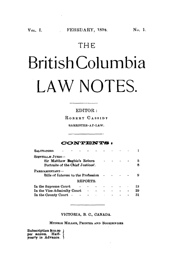 handle is hein.journals/bricolno1 and id is 1 raw text is: FEB R)ARY, 1.894.