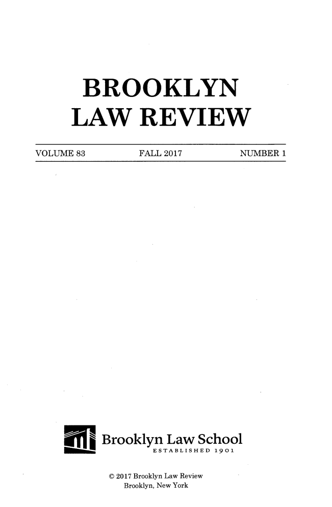 handle is hein.journals/brklr83 and id is 1 raw text is: 