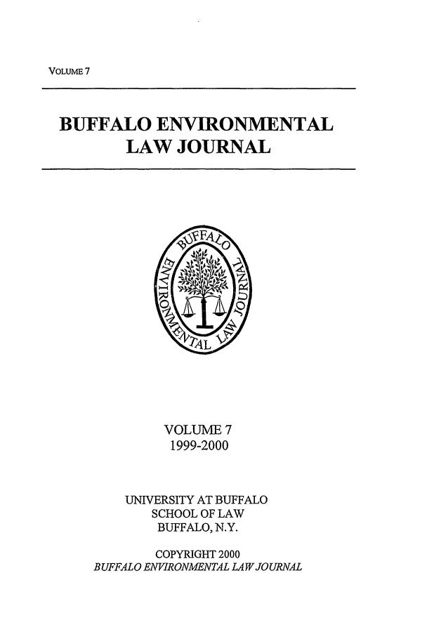 handle is hein.journals/bufev7 and id is 1 raw text is: VOLUME 7