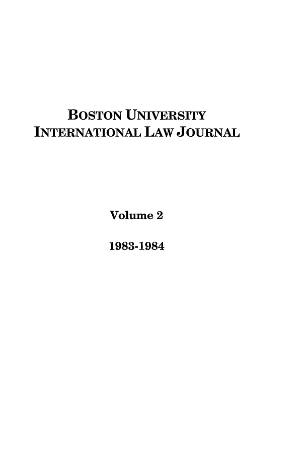 handle is hein.journals/builj2 and id is 1 raw text is: BOSTON UNIVERSITY