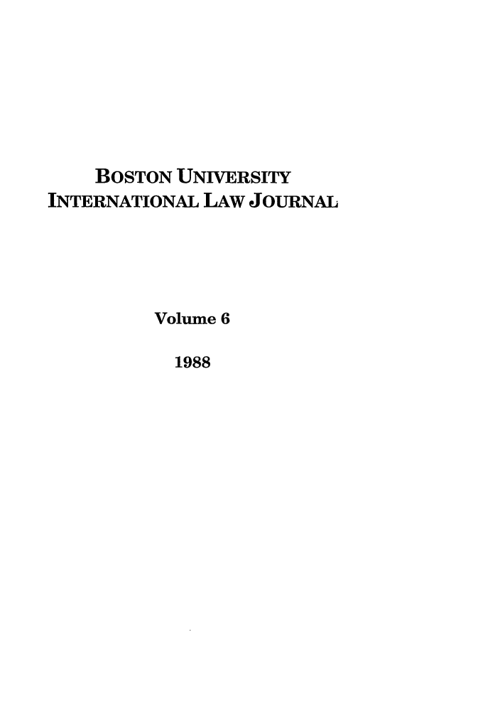 handle is hein.journals/builj6 and id is 1 raw text is: BOSTON UNIVERSITY