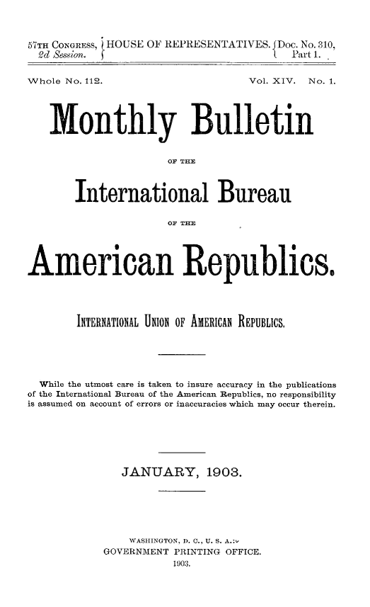 handle is hein.journals/bulpnamu14 and id is 1 raw text is: 