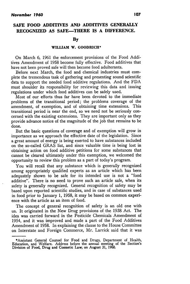 handle is hein.journals/busl16 and id is 109 raw text is: November 1960