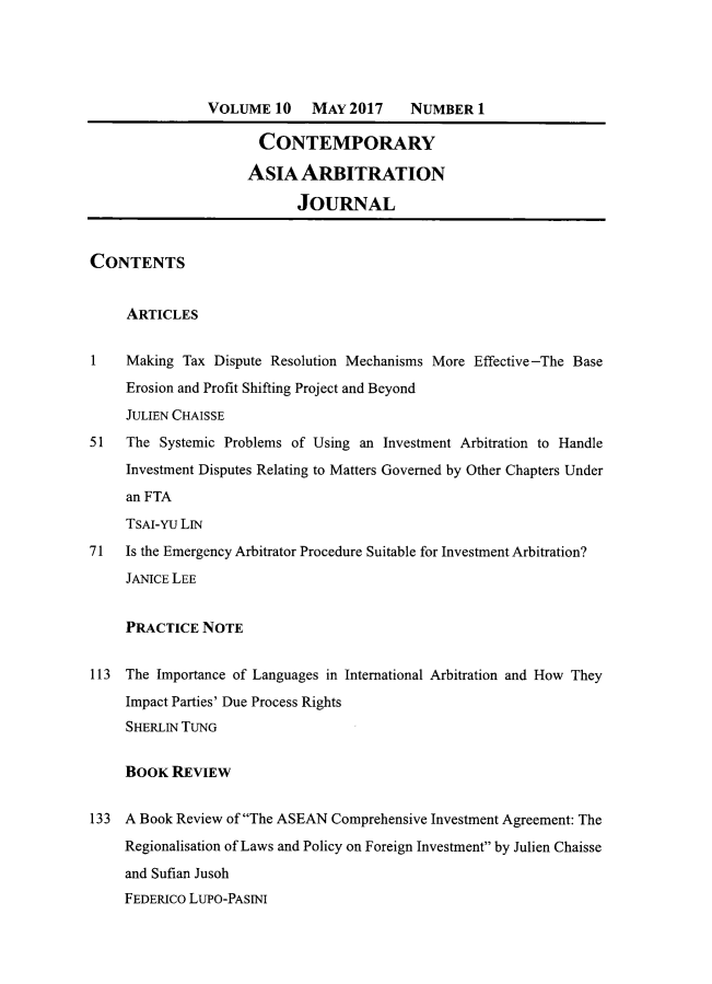 handle is hein.journals/caaj10 and id is 1 raw text is: 