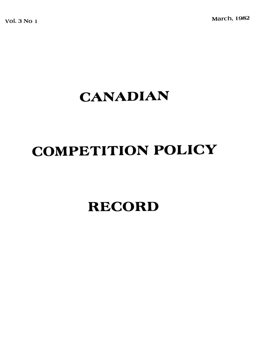 handle is hein.journals/cacmplr3 and id is 1 raw text is: Vol. 3 No 1            March, 1982
